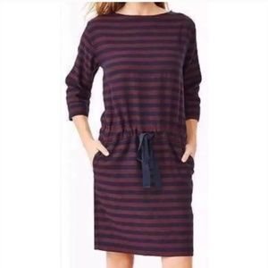 GAP Dress Draw String Waist 3/4 Sleeves